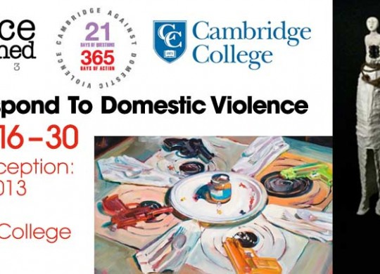 21 Days of Questions / 365 Days of Action: Cambridge College Exhibit
