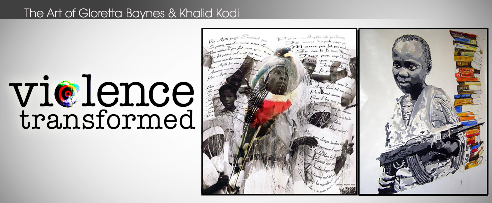 Artwork of Gloretta Baynes & Khalid Kodi