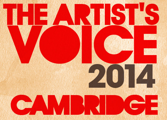 The Artist's Voice: The Cambridge Exhibit