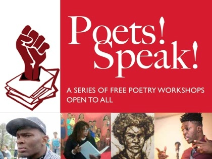 Poets! Speak! A Free Poetry Workshop Series