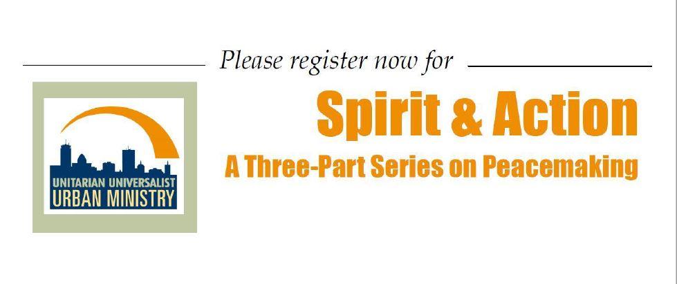 Spirit in Action Workshop Series