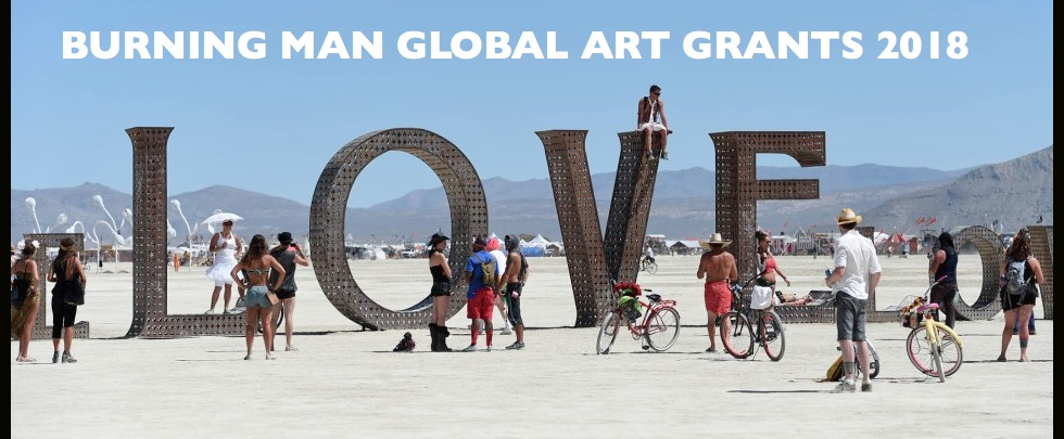 Burning Man Global Arts Grants 2018