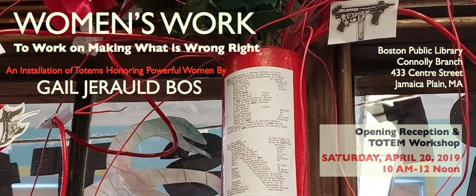 Women's Work: To Work on Making What is Wrong Right
