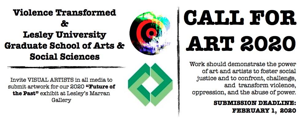 2020 VT-Lesley U. Call for Art