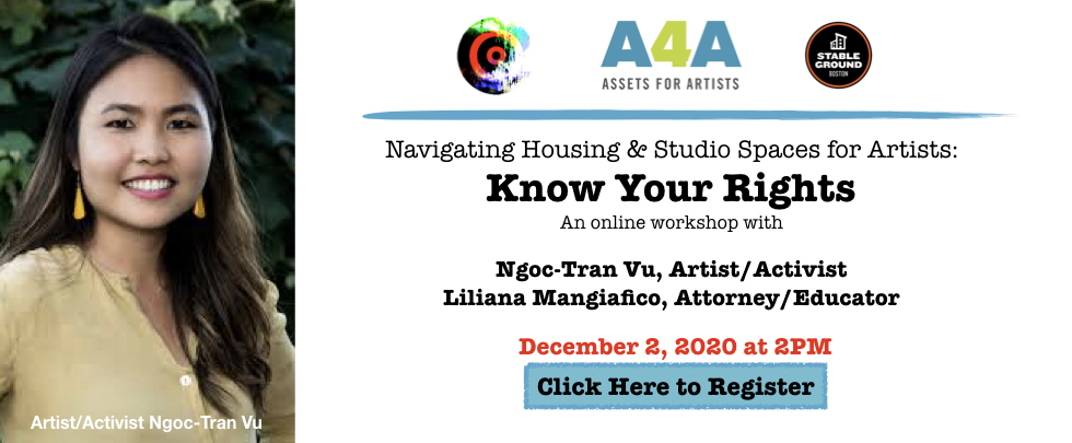 Navigating Housing & Studio Spaces for Artists: Know Your Rights